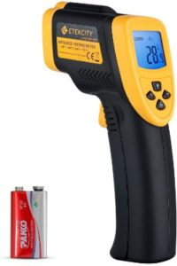 Etekcity Laser Infrared Thermometers for Cooking