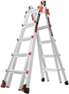 Little Giant 22-Foot Ladders for Cleaning Gutters