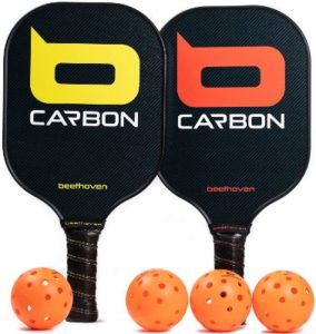 Beethoven Carboon Outdoor Pickleballs