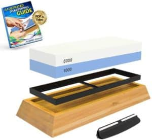Culinary Obsession Sharpening Stone for Kitchen Knives