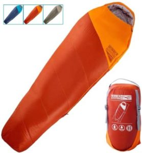 WINNTER OUTFITTERS Sleeping Bag with Compression Sack