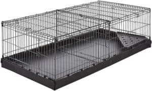 AmazonBasics Indoor Rabbit Cages with Canvas Bottom