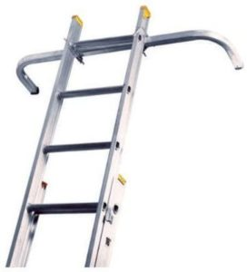 Louisville Ladders for Cleaning Gutters