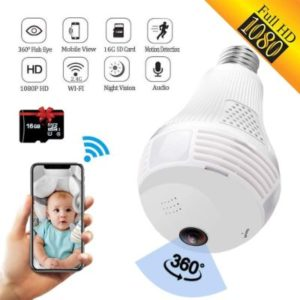 SARCCH Outdoor Light Bulb Security Camera