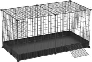 SONGMICS Large Indoor Rabbit Cages PlayPen