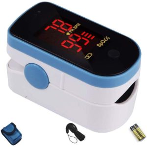 CHOICEMMED Sky Blue Portable Pulse Oximeters
