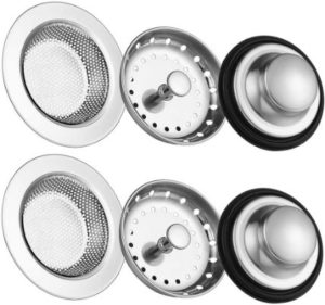 Carry360 Anti-Clogging Kitchen Sink Strainers