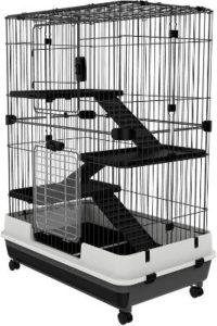 PawHut 4-Level Indoor Rabbit Cages