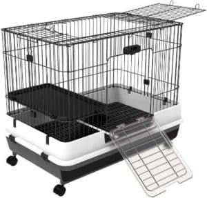 PawHut Small Indoor Rabbit Cages