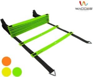 Wacces Adjustable Agility Ladders for Soccer with Carry Bag