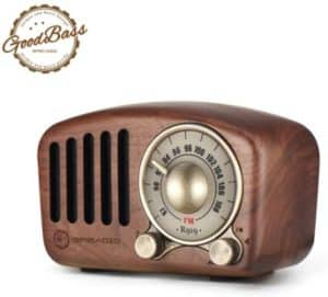 Vintage Radio bluetooth speaker for classical music