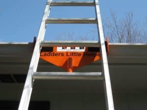 Ladder's Little Helper Ladders for Cleaning Gutters