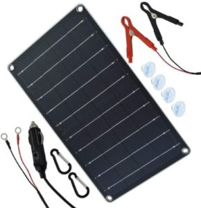 Moolsun Solar Charger for Trolling Motor Battery