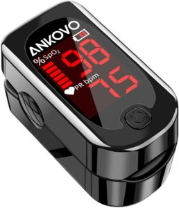 ANKOVO Portable Pulse Oximeters Monitor