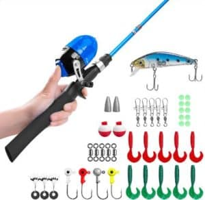 Byzy Kids Fishing Poles with Carry Bag