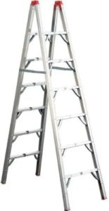 GP Logistics SLDD7 7' Compact Ladders for Cleaning Gutters