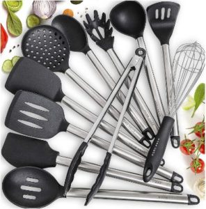 Home Hero 11 Pieces Silicone Kitchen Utensil Sets