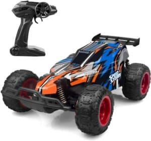 High Speed RC Car With 4 Batteries