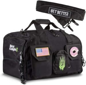 Bear Komplex Crossfit Gym Bags with 2 Compression Straps