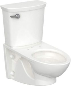 Wall Mounted Toilet With Left Lever