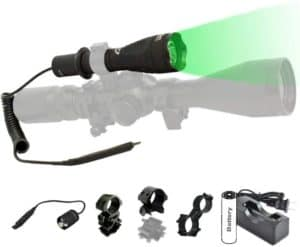 Green Light For Hog Huntings With Remote Pressure Switch