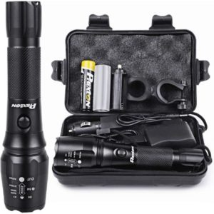 Rechargeable Tactical Flashlight Package