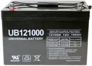 Universal Power Group Solar Wind AGM Battery