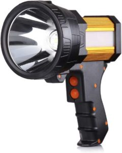 Compact Handheld Spot With Large Flashlight