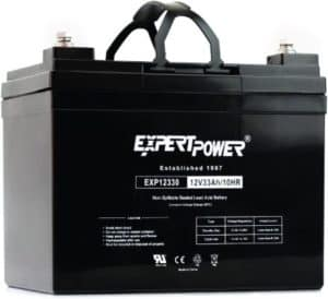 ExpertPower Rechargeable Solar Battery