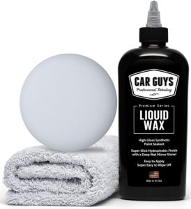 Ultimate Car Wax With Polymer Paint