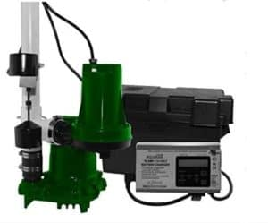 Zoeller High Quality Sump Pump with LCD