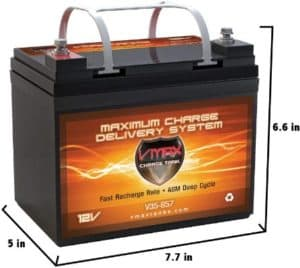 VMAXTANKS AGM Deep Cycle Solar Battery