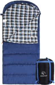 Cotton Flannel Sleeping Bag under 100 for Adults