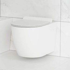 Glossy White Tropez Wall Hung Toilet