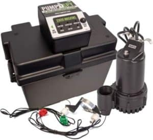 PumpSpy Sump Pump with Battery Backup