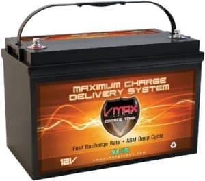 VMAX Mounted Deep Cycle Solar Battery