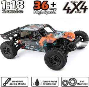 Waterproof Remote Control Car For Kids & Adults