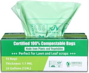 Primode Biodegradable and Compostable Trash Bags