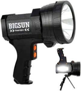 Rechargeable LED Spotlight For Hunting