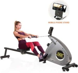 SNODE Foldable Rowing Machines with 12 Levels