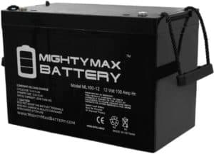 Mighty Max Battery Deep Cycle Battery with AGM