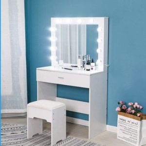 Riforla Makeup Vanity Tables with Lights - 12 LEDs