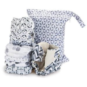 Simple Being Reusable wet bag for cloth diapers