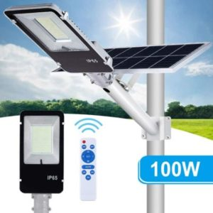 Solar Street Light With 5000 Lumens