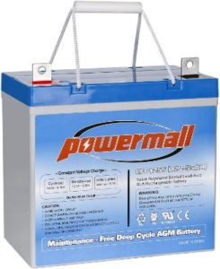 WEIZE Deep Cycle Battery with AGM