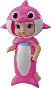 Baby Shark Blonde Hair Doll With Sound Effects