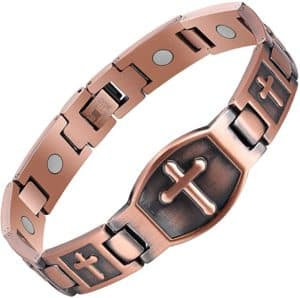 Magnetic Bracelet With Copper Design