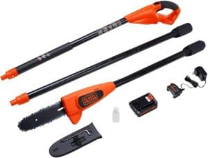 Rechargeable Electric Pole Saw With Powerful Motor