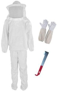 Unisex Professional Cotton Bee Suit Set