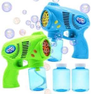 Bubble Guns Set With Refill Solution